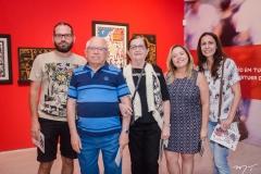 Tiago Pessoa, Auricelio Pontes, Luci Pontes, Fabiola Pessoa e Izabela Holanda (1)