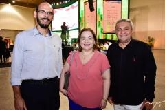 Amilton Quixadá, Márcia Abreu e Francisco Sales