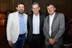 Élcio Batista, José Sarto e Antônio Henrique
