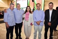 Ferruccio Feitosa, Amarílio e Patricia Macêdo, Salmito Filho e Esio Feitosa