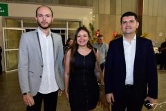 Italo Santos, Sâmia Maia e Ronaldo Martins