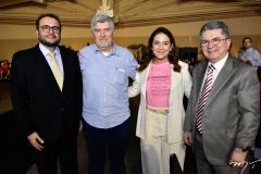Jóse Leite, Amarílio e Patrícia Macêdo e Afrânio Motenegro