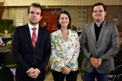 João Paulo Nogueira, Daniele Queiroz e Raimundo Neto