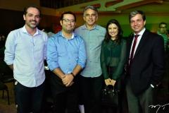 Lano Fiúza, Anderson Carvalho, Luciano Cidrão, Adelina Feitosa e Rômulo Soares