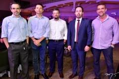 Rodrigo Pordeus, Fábio Gondim, André Machado, Eduardo Castelho e Marcelo Vieira