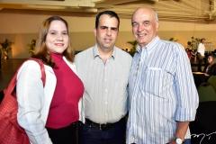 Sandra Aragão, Rodrigo Caldas e Fernando Mota