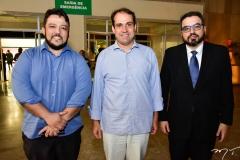 Temosteno Batalha, Salmito Filho e Robson Moreira