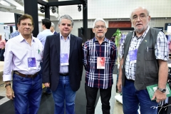 Elias Carmo, Francisco Esteves, Ivan Moreira e Hans Fiege
