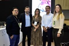 Felipe Torquato, Élcio Batista, Érica Gomes, Eduardo Neves e Thais Cunha