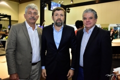 Lélio Matias, Élcio Batista e Francisco Esteves