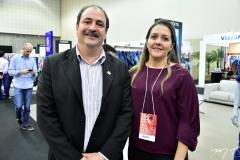 Paulo André Holanda e Raquel Vasconcelos