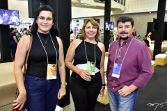 Sheila Silva, Zenaide Severo e Marcelo Luiz