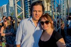 George Benevides e Luciana Diogo