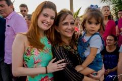 Geovana, Valéria e Maria Câmara