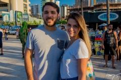 João Paulo Martins e Camila Aragão