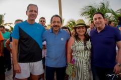 Régis Medeiros, Tadeu e Rosângela Oliveira e Rodrigo Pereira