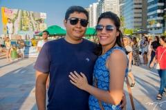 Thiago Teixeira e Mariana Andrade