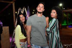 Leticia Meg, Thiago Medeiros e Larissa Rodrigues