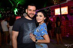 Rodrigo Lopes e Samila Franco