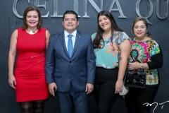 Bleine Queiroz, Valdetário Monteiro, Beatriz Andrade e Francisca Castelo Branco