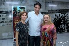 Ítala Ramalho, Wilson Loureiro e Eliane Novais
