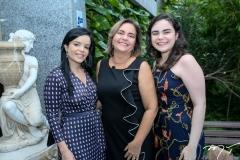 Katiane Virna, Ana Paula Araújo e  Maria Cecilia Vieira