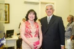 Angela Gutierrez e Tales de Sá Cavalcante