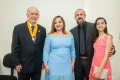 Seridião Montenegro, Angélica Sampaio, Robério César e Ana Carolina Sampaio
