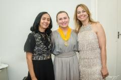 Elinalva Oliveira, Celma Prata e Grecianny Cordeiro