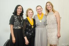 Elinalva Oliveira, Giselda Medeiros, Celma Prata e Grecianny Cordeiro