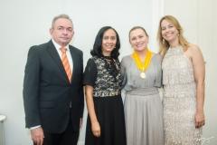Júnior Bonfim, Elinalva Oliveira, Celma Prata e Grecianny Cordeiro