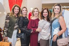 Alexandra Pinto, Michelle Aragão, Suyane Dias Branco, Martinha Assunção e Tais Pinto