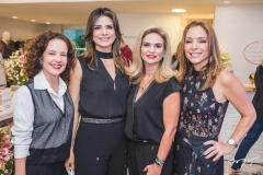 Camila Cavalcante, Rachel Teixeira, Germana Cavalcante e Ana Paula Daud