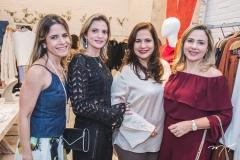 Carla Nogueira, Michelle Aragão, Martinha Assunção e Suyane Dias Branco
