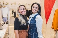 Erika Queiroz e Neuza Rocha