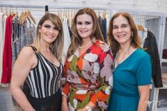 Gisele Boris, Ivana Bezerra e Cássia Torres de Melo