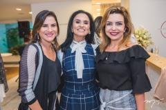 Luciana Borges, Neuza Rocha e Cristine Aguiar