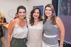 Márcia Travessoni, Martinha Assunção e Danielle Pinheiro
