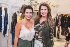 Márcia Travessoni e Alexandra Pinto