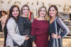Martinha Assunção, Michelle Aragão, Suyane Dias Branco e Luciana Borges