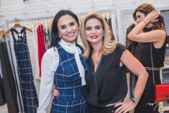 Neuza Rocha e Germana Cavalcante