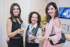 Rachel Teixeira, Camila Cavalcante e Sarah Nunes