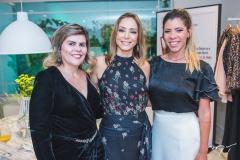Sandra Brayner, Ana Paula Daud e Shirley de Queiroz