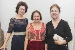 Alcileia Lima, Verônica Barbazan e Graça Fonteles