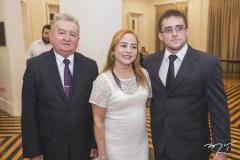Aluísio Macedo, Daniele Macedo e Alef Macedo