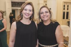 Ana Karine Moreira e Ana Paula Araújo