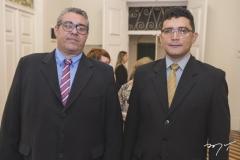 Claudenir Holanda e Sebastião Alves