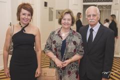 Elana Farias, Neice Andrade e José Maria Andrade