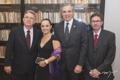 Ielton Barreto, Márcia Sucupira, Pablo Manye e Mauro Gurgel