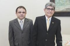 José Luiz Lira e José Augusto Bezerra